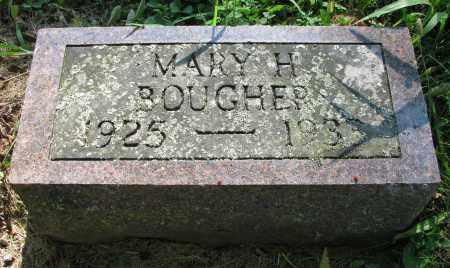BOUGHER, MARY H. - Delaware County, Ohio | MARY H. BOUGHER - Ohio Gravestone Photos