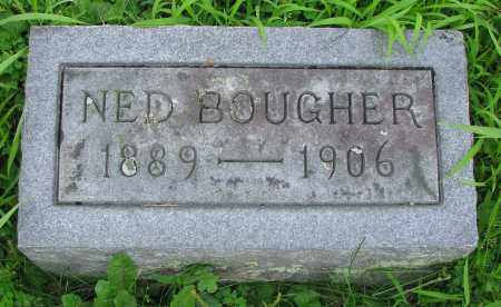 BOUGHER, NED - Delaware County, Ohio | NED BOUGHER - Ohio Gravestone Photos