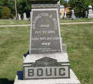 BOUIC, WASHINGTON A. - Delaware County, Ohio | WASHINGTON A. BOUIC - Ohio Gravestone Photos