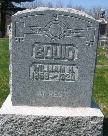 BOUIC, WILLIAM H. - Delaware County, Ohio | WILLIAM H. BOUIC - Ohio Gravestone Photos