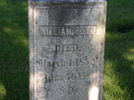 BOYD, WILLIAM - Delaware County, Ohio | WILLIAM BOYD - Ohio Gravestone Photos