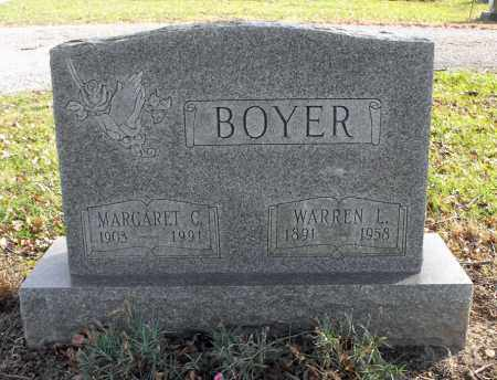 BOYER, WARREN LLOYD - Delaware County, Ohio | WARREN LLOYD BOYER - Ohio Gravestone Photos