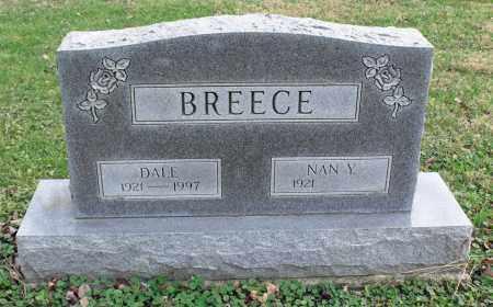 BREECE, DALE - Delaware County, Ohio | DALE BREECE - Ohio Gravestone Photos