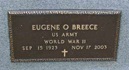 BREECE, EUGENE O. - Delaware County, Ohio | EUGENE O. BREECE - Ohio Gravestone Photos