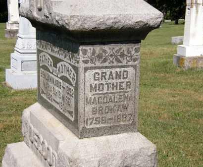 BROKAW, MAGDALENA - Delaware County, Ohio | MAGDALENA BROKAW - Ohio Gravestone Photos