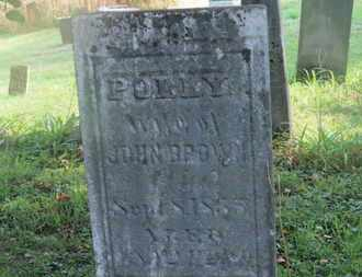 BROWN, POLLY - Delaware County, Ohio | POLLY BROWN - Ohio Gravestone Photos