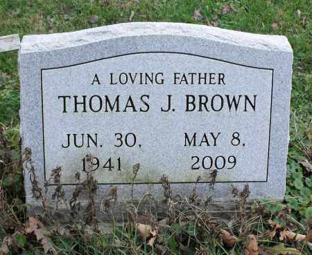 BROWN, THOMAS J. - Delaware County, Ohio | THOMAS J. BROWN - Ohio Gravestone Photos