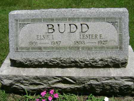 BUDD, LESTER E - Delaware County, Ohio | LESTER E BUDD - Ohio Gravestone Photos