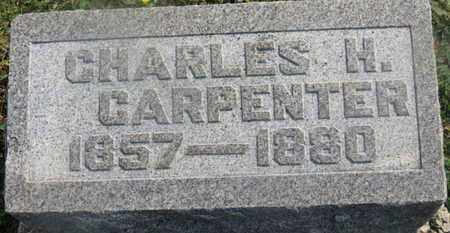 CARPENTER, CHARLES H. - Delaware County, Ohio | CHARLES H. CARPENTER - Ohio Gravestone Photos