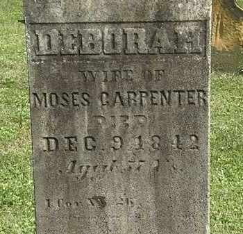 CARPENTER, DEBORAH - Delaware County, Ohio | DEBORAH CARPENTER - Ohio Gravestone Photos