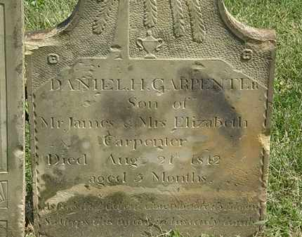 CARPENTER, DANIEL H. - Delaware County, Ohio | DANIEL H. CARPENTER - Ohio Gravestone Photos