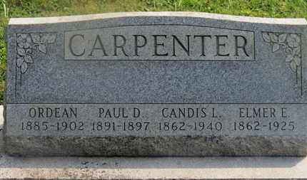 CARPENTER, PAUL D. - Delaware County, Ohio | PAUL D. CARPENTER - Ohio Gravestone Photos