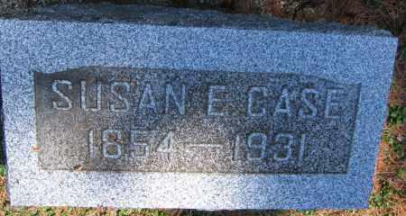 CASE, SUSAN E. - Delaware County, Ohio   SUSAN E. CASE - Ohio Gravestone Photos