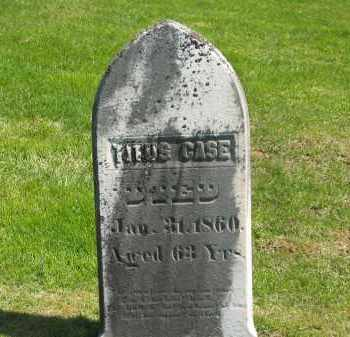 CASE, TITUS - Delaware County, Ohio | TITUS CASE - Ohio Gravestone Photos