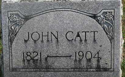 CATT, JOHN - Delaware County, Ohio | JOHN CATT - Ohio Gravestone Photos