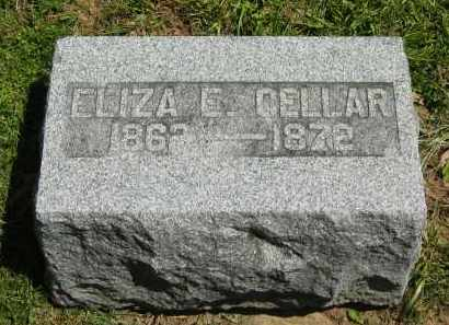 CELLAR, ELIZA E. - Delaware County, Ohio | ELIZA E. CELLAR - Ohio Gravestone Photos