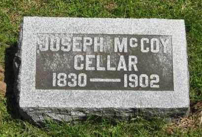 CELLAR, JOSEPH MCCOY - Delaware County, Ohio | JOSEPH MCCOY CELLAR - Ohio Gravestone Photos