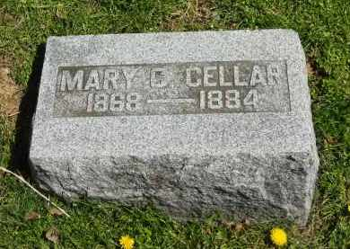 CELLAR, MARY C. - Delaware County, Ohio | MARY C. CELLAR - Ohio Gravestone Photos