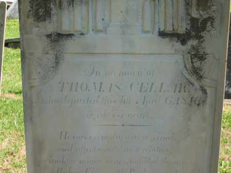 CELLAR, THOMAS - Delaware County, Ohio | THOMAS CELLAR - Ohio Gravestone Photos