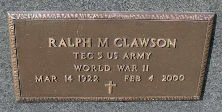 CLAWSON, RALPH MERLE - Delaware County, Ohio | RALPH MERLE CLAWSON - Ohio Gravestone Photos