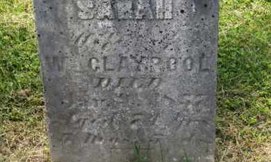 CLAYPOOL, SARAH - Delaware County, Ohio | SARAH CLAYPOOL - Ohio Gravestone Photos