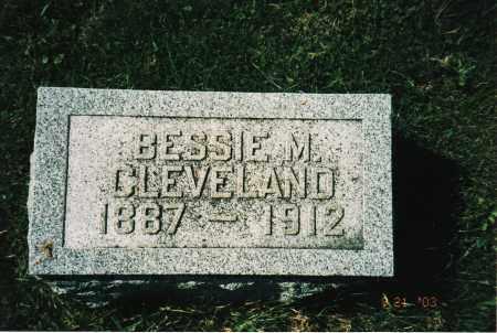 CLEVELAND, BESSIE M. - Delaware County, Ohio | BESSIE M. CLEVELAND - Ohio Gravestone Photos