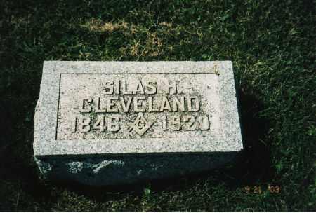 CLEVELAND, SILAS H. - Delaware County, Ohio | SILAS H. CLEVELAND - Ohio Gravestone Photos