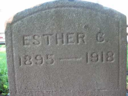 VIGAR CLOVER, ESTHER G. - Delaware County, Ohio | ESTHER G. VIGAR CLOVER - Ohio Gravestone Photos
