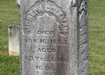COLEMAN, JOSEPH - Delaware County, Ohio | JOSEPH COLEMAN - Ohio Gravestone Photos