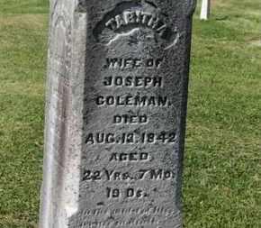 COLEMAN, TABITHA - Delaware County, Ohio | TABITHA COLEMAN - Ohio Gravestone Photos