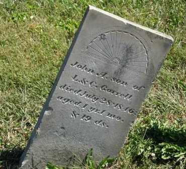 CORRELL, JOHN A. - Delaware County, Ohio | JOHN A. CORRELL - Ohio Gravestone Photos
