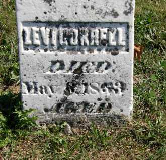 CORRELL, LEVI - Delaware County, Ohio | LEVI CORRELL - Ohio Gravestone Photos