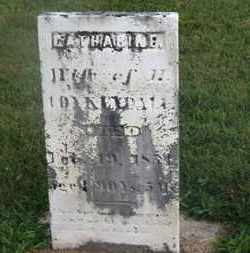 COYKENDALL, CATHARINE - Delaware County, Ohio | CATHARINE COYKENDALL - Ohio Gravestone Photos