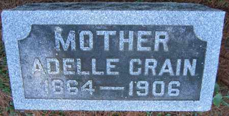 CRAIN, ADELLE - Delaware County, Ohio | ADELLE CRAIN - Ohio Gravestone Photos