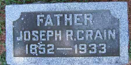 CRAIN, JOSEPH R. - Delaware County, Ohio | JOSEPH R. CRAIN - Ohio Gravestone Photos