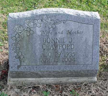 GALE CRAWFORD, BONNIE J. - Delaware County, Ohio | BONNIE J. GALE CRAWFORD - Ohio Gravestone Photos