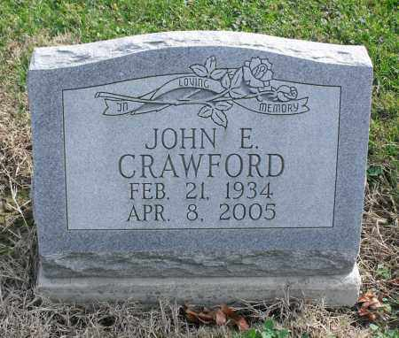 CRAWFORD, JOHN E. - Delaware County, Ohio | JOHN E. CRAWFORD - Ohio Gravestone Photos
