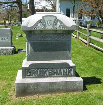 CRUIKSHANK, FAMILY MEMORIAL - Delaware County, Ohio | FAMILY MEMORIAL CRUIKSHANK - Ohio Gravestone Photos