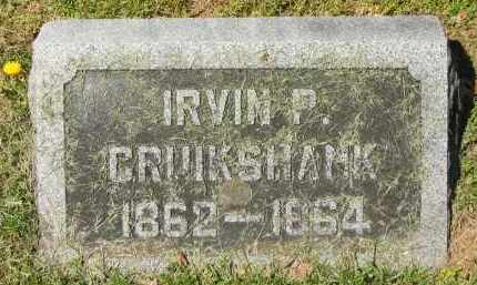 CRUIKSHANK, IRVIN P. - Delaware County, Ohio | IRVIN P. CRUIKSHANK - Ohio Gravestone Photos