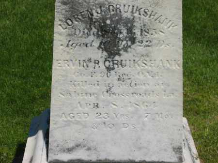 CRUIKSHANK, ERVIN R. - Delaware County, Ohio | ERVIN R. CRUIKSHANK - Ohio Gravestone Photos