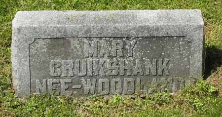 CRUIKSHANK, MARY - Delaware County, Ohio | MARY CRUIKSHANK - Ohio Gravestone Photos