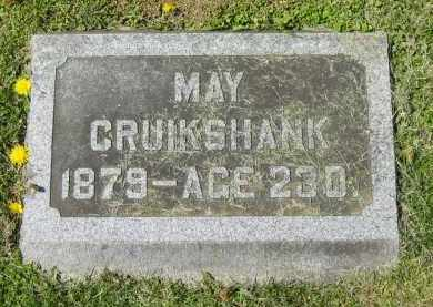 CRUIKSHANK, MAY - Delaware County, Ohio | MAY CRUIKSHANK - Ohio Gravestone Photos