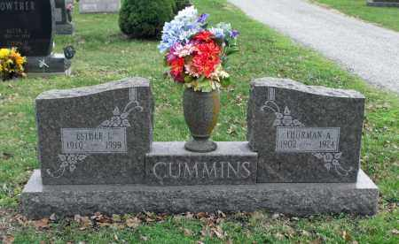 CUMMINS, ESTHER - Delaware County, Ohio | ESTHER CUMMINS - Ohio Gravestone Photos