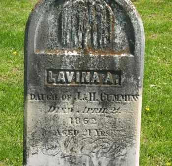 CUMMINS, LAVINA A. - Delaware County, Ohio | LAVINA A. CUMMINS - Ohio Gravestone Photos