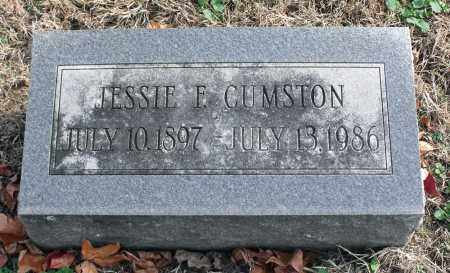 CUMSTON, JESSIE F. - Delaware County, Ohio | JESSIE F. CUMSTON - Ohio Gravestone Photos