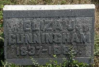 CUNNINGHAM, ELIZA J. - Delaware County, Ohio | ELIZA J. CUNNINGHAM - Ohio Gravestone Photos