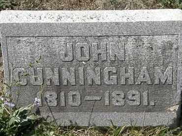 CUNNINGHAM, JOHN - Delaware County, Ohio | JOHN CUNNINGHAM - Ohio Gravestone Photos
