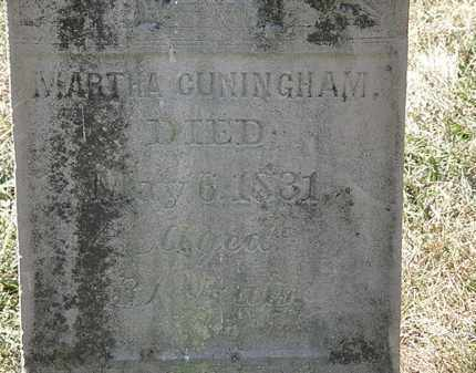 CUNNINGHAM, MARTHA - Delaware County, Ohio | MARTHA CUNNINGHAM - Ohio Gravestone Photos