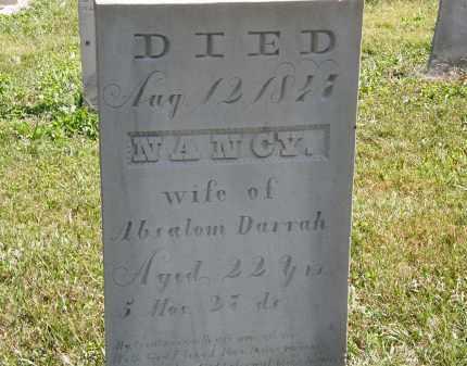DARRAH, NANCY - Delaware County, Ohio | NANCY DARRAH - Ohio Gravestone Photos