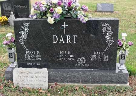 DART, MAX FREDERICK - Delaware County, Ohio | MAX FREDERICK DART - Ohio Gravestone Photos